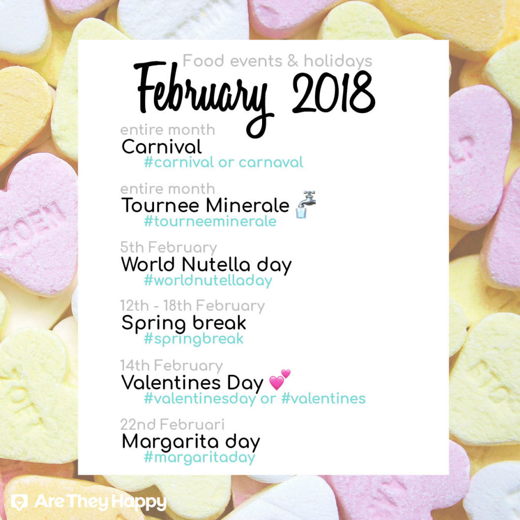 February food events and holidays you should know about
